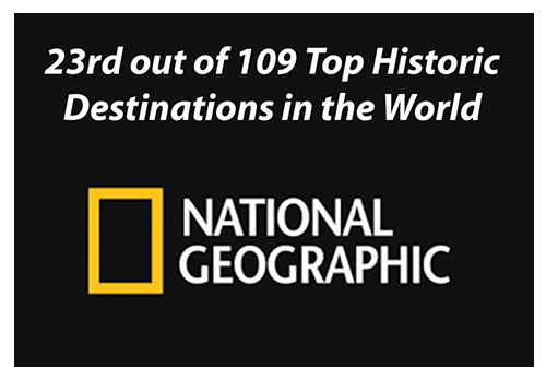 National Geographic Historic Destination